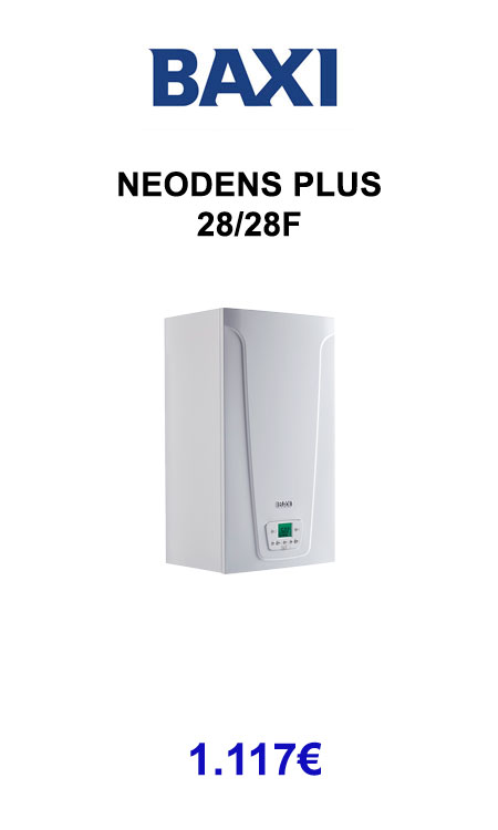 BAXI neodens plus 28/28f 2019