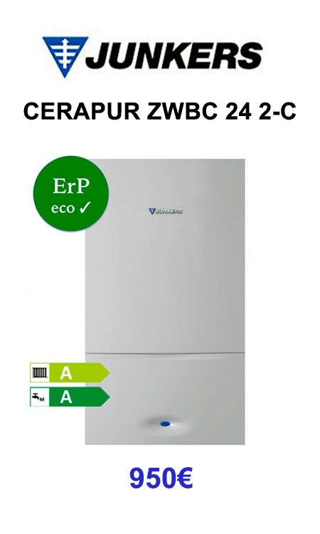 JUNKERS CERAPUR ZWBC 24 2-C