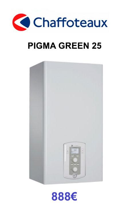 chaffoteaux-pigmagreen 25