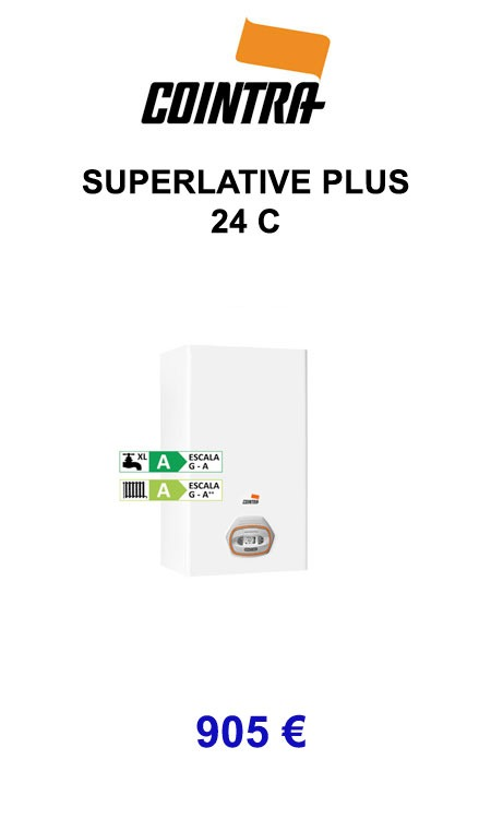 caldera superlative plus 24C cointra 2019
