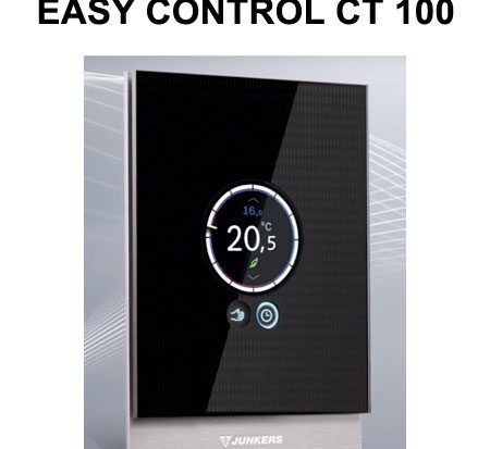 termostato junkers EASY CONTROL CT 100 2019