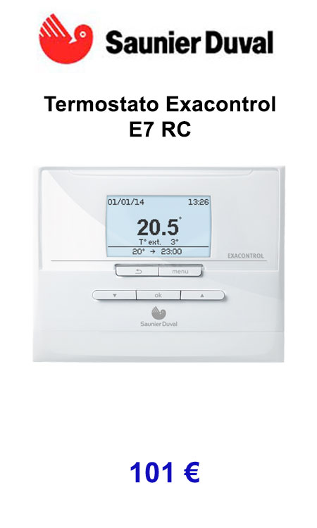 termostato saunier duval exacontrol e7 rc calorsat 2019