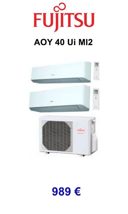Fujitsu AOY 40 Ui MI2 calorsat 2019