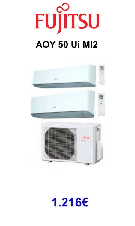 Fujitsu AOY 50 Ui MI2 calorsat 2019