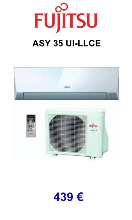 Fujitsu ASY 35 UI-LLCE calorsat 2019
