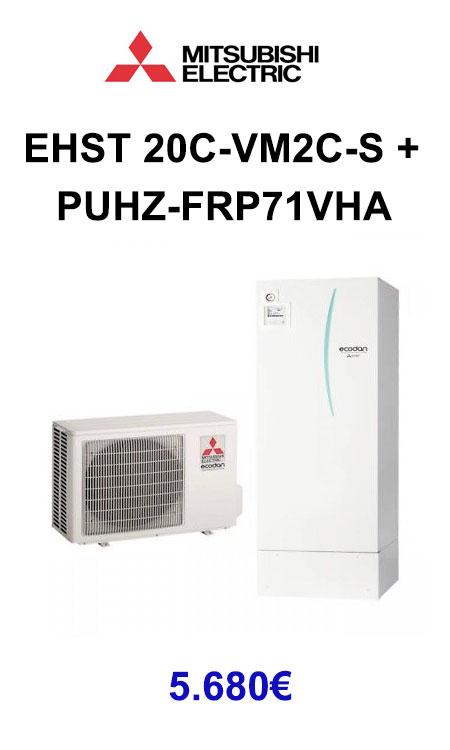 EHST-20C-VM2C-S-+-PUHZ-FRP71VHA